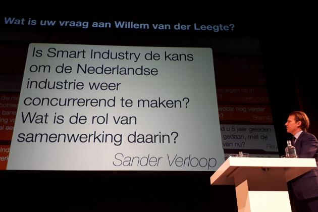 Willem van der Leegte over 'smart industry'